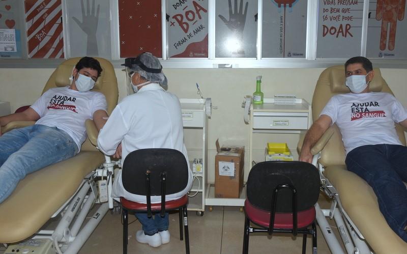 Secretaria de Estado da Saúde promove campanha em homenagem aos Pais doadores de sangue