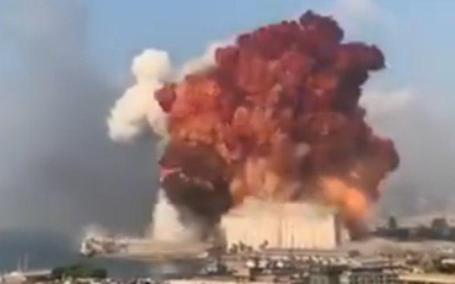 Explosões no porto de Beirute, Líbano, causam destruição e mortes