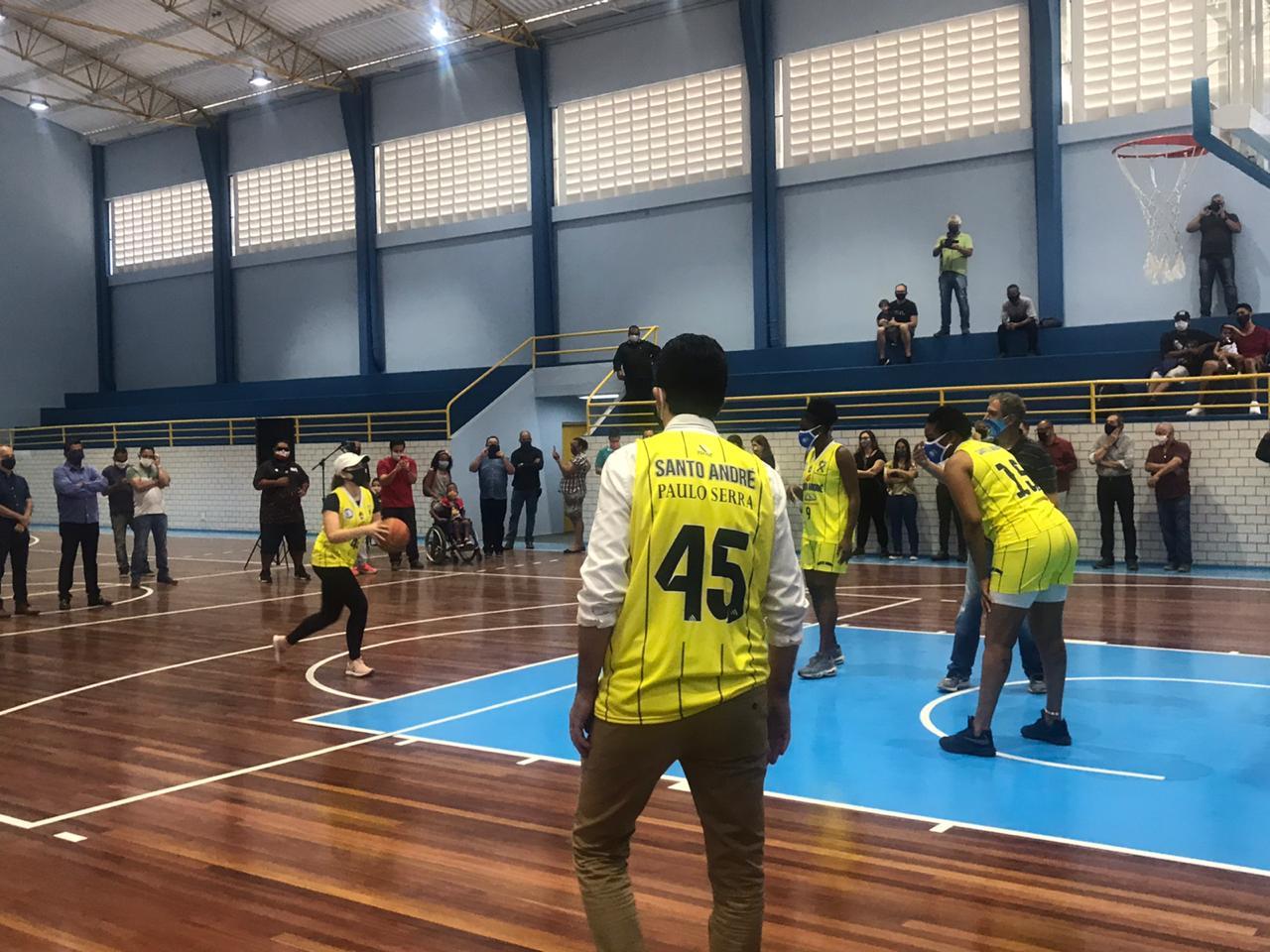 Prefeitura de Santo André remodela e moderniza o ginásio Municipal Parque Celso Daniel