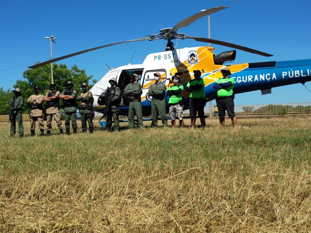 PM participa de operação conjunta com o CIOPAER em Araguaína