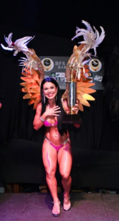 Musa Fitness Taizi Parreira conquista títulos na BFS ANGELS