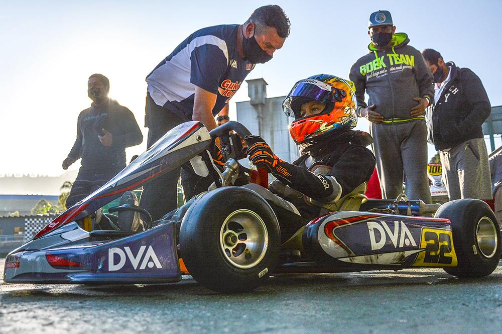 Guki Toniolo estreia no Raceland Internacional na disputa pelo Paranaense de Kart