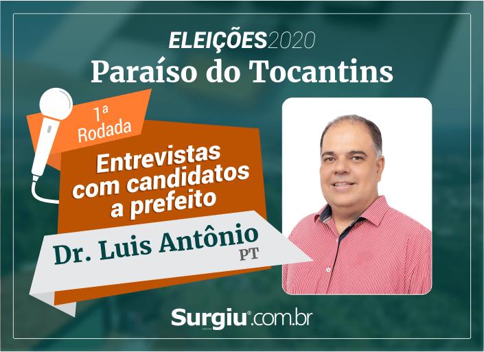 Dr. Luis Antônio participa da 1ª rodada de entrevistas com candidatos a prefeito de Paraíso