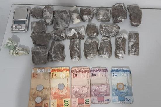 Mulher é presa após utilizar a própria residência para venda de drogas em Guaraí
