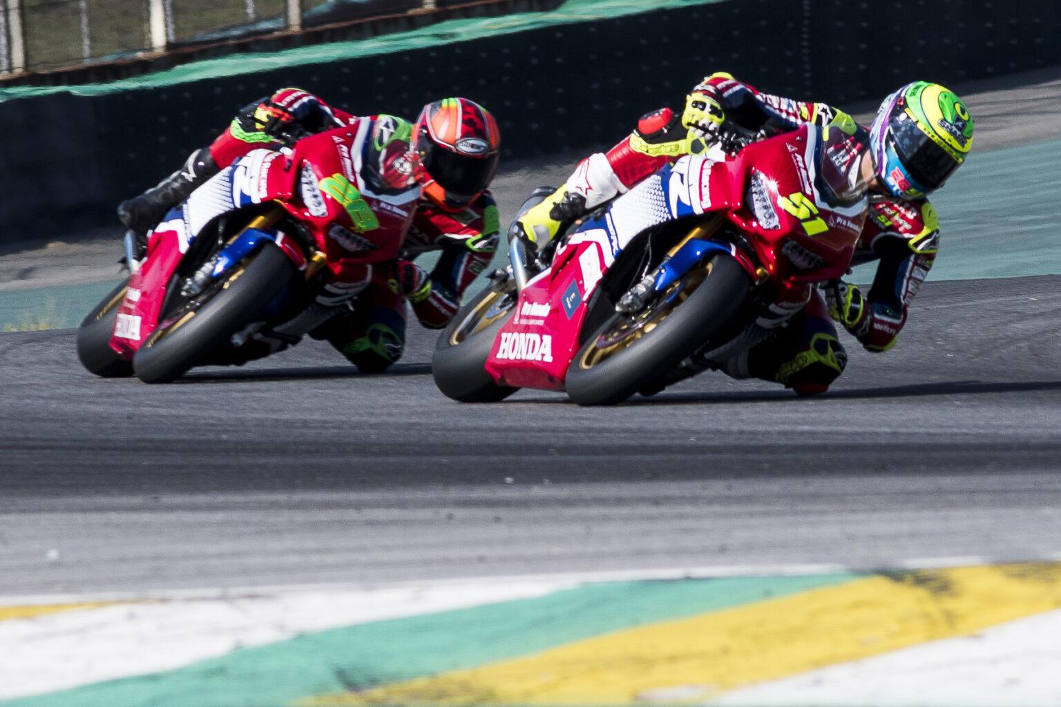 Com domínio de Eric Granado, Honda Racing abre vantagem na liderança do SuperBike Brasil