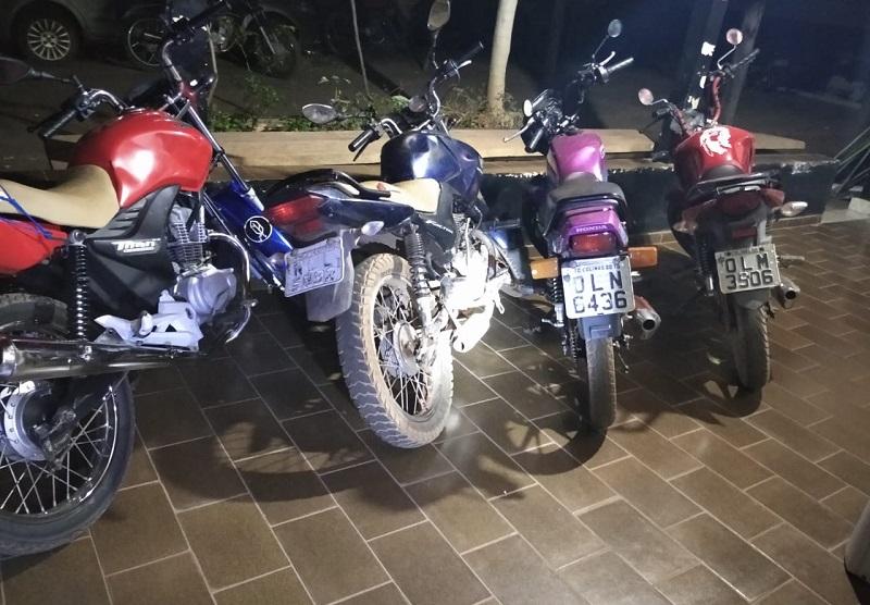 Operação Abafador apreende 4 motocicletas e autua proprietários em Colinas