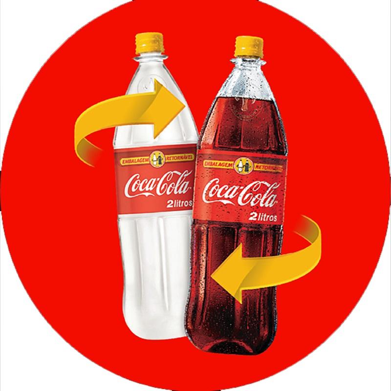 Garrafa Virtual: Ação da Coca-Cola permite consumidores do Tocantins e Goiás encherem garrafas retornáveis com cupons