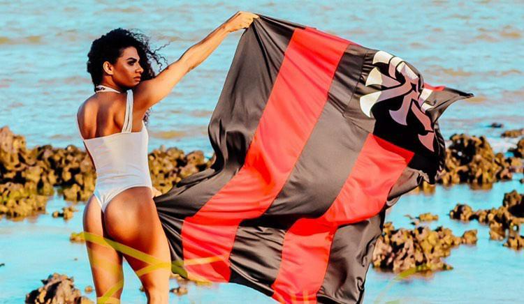 Regiane Miranda arrasa como candidata à Musa do Flamengo