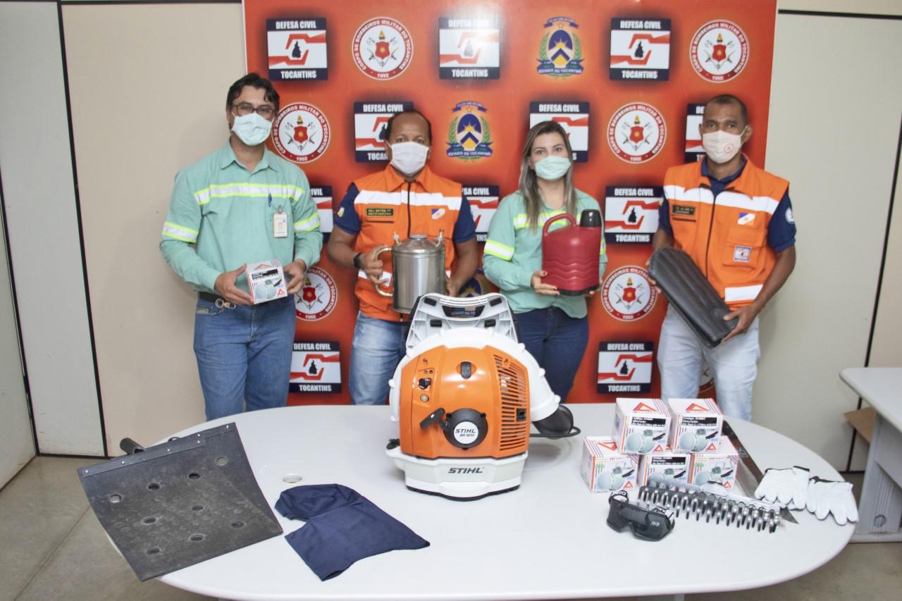 BP Bunge Bioenergia entrega equipamentos de combate a incêndios florestais à Defesa Civil Estadual