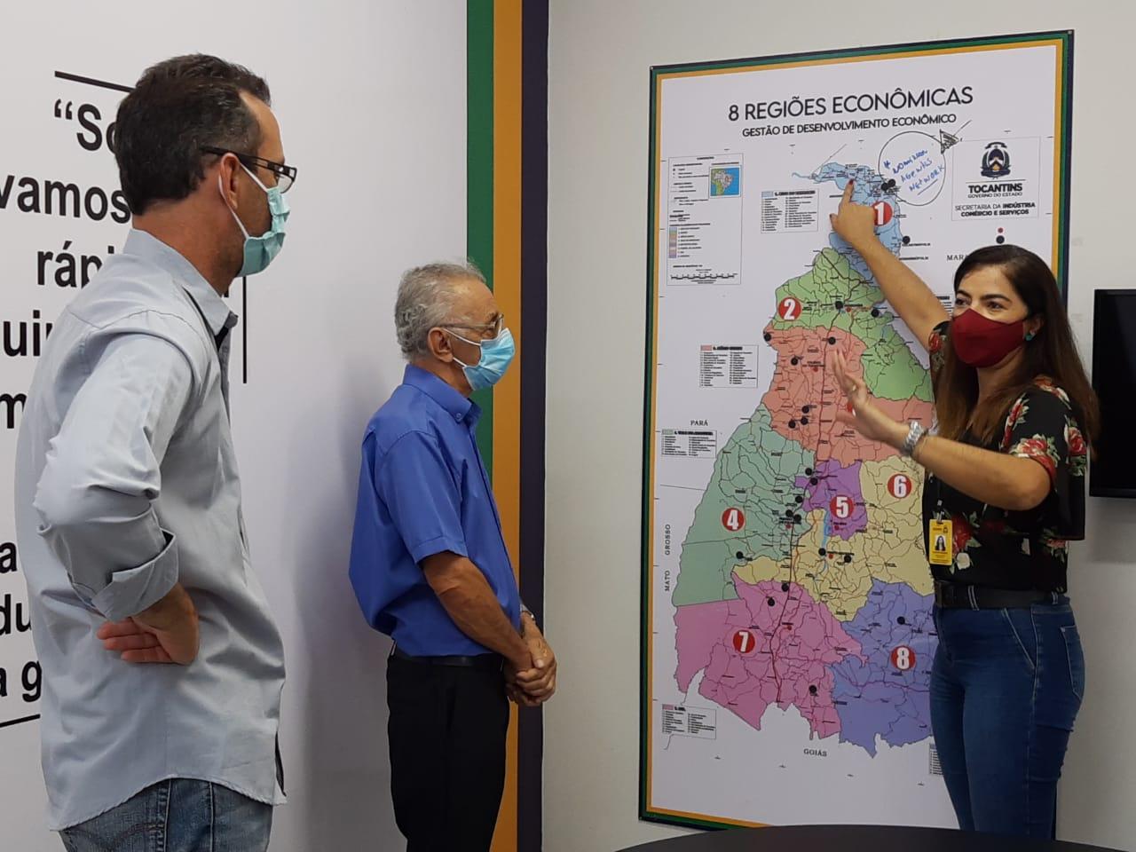 Empresário busca apoio do Governo para implementar fábrica de farinha e fécula de mandioca