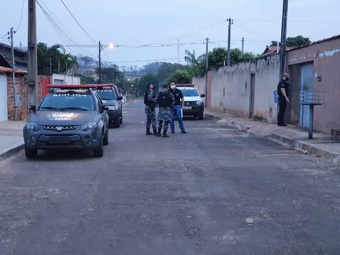 Forças de Segurança realizam operação conjunta de combate ao tráfico de drogas em Guaraí