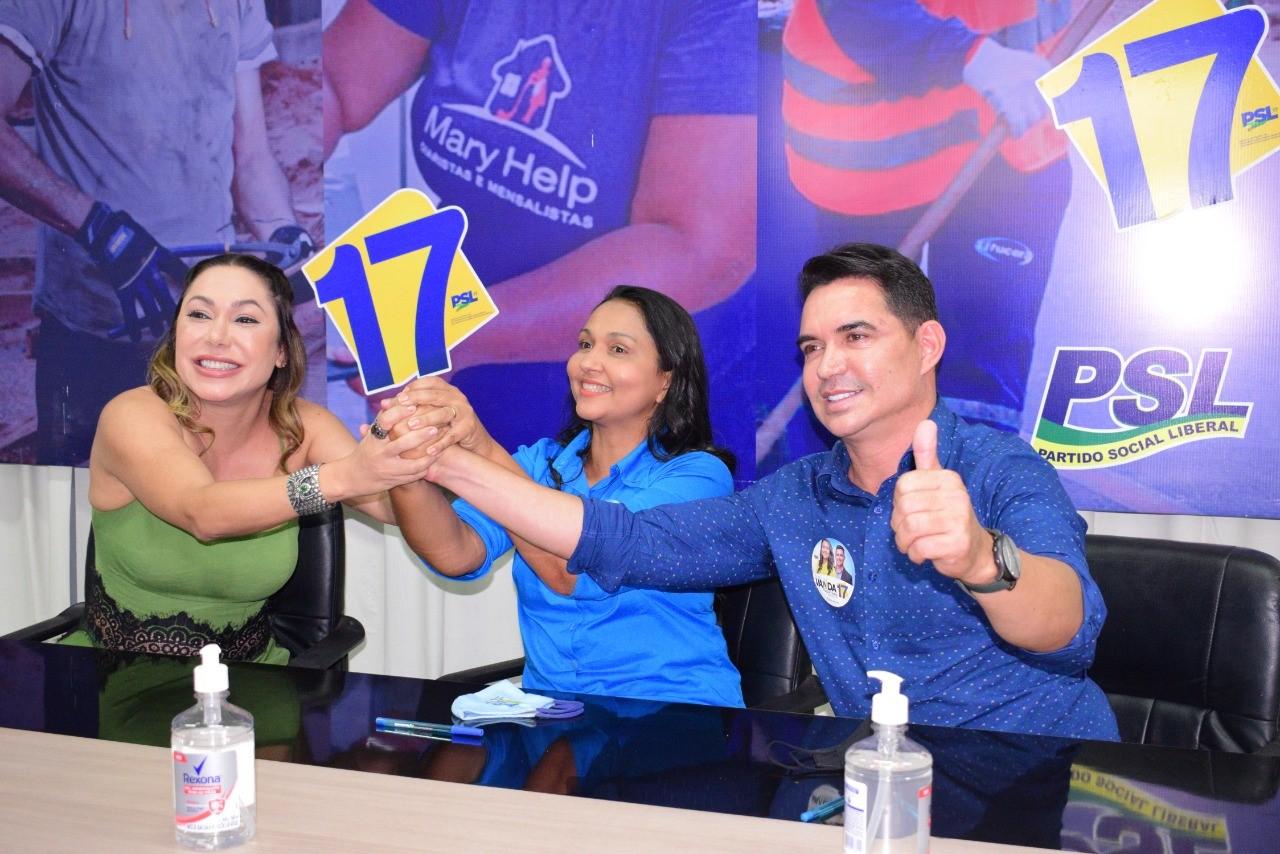 Em Palmas, deputada Luana Ribeiro declara apoio à candidatura de Vanda Monteiro