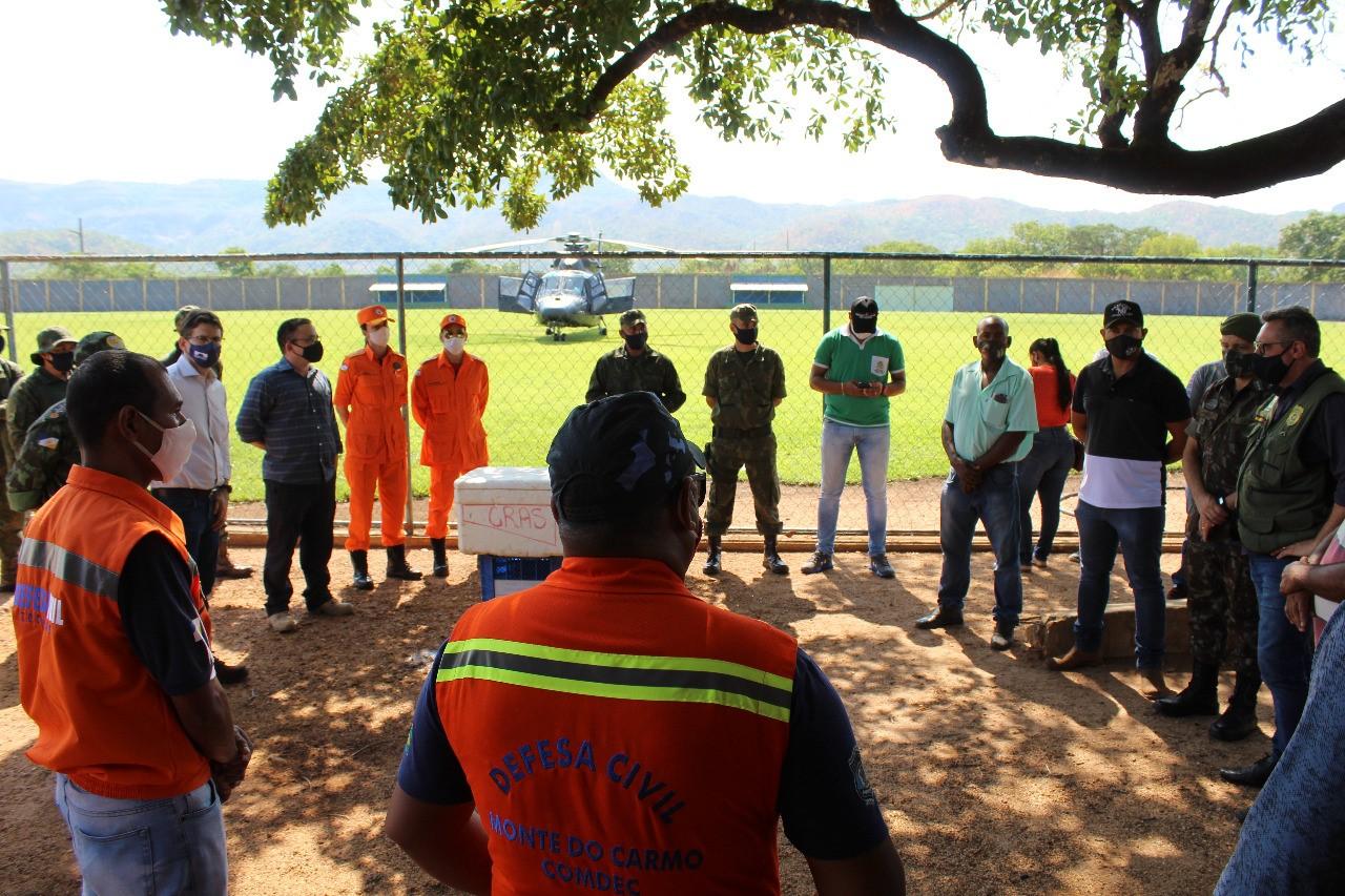 Operação Integrada percorre áreas rurais de Monte do Carmo para coibir queimadas