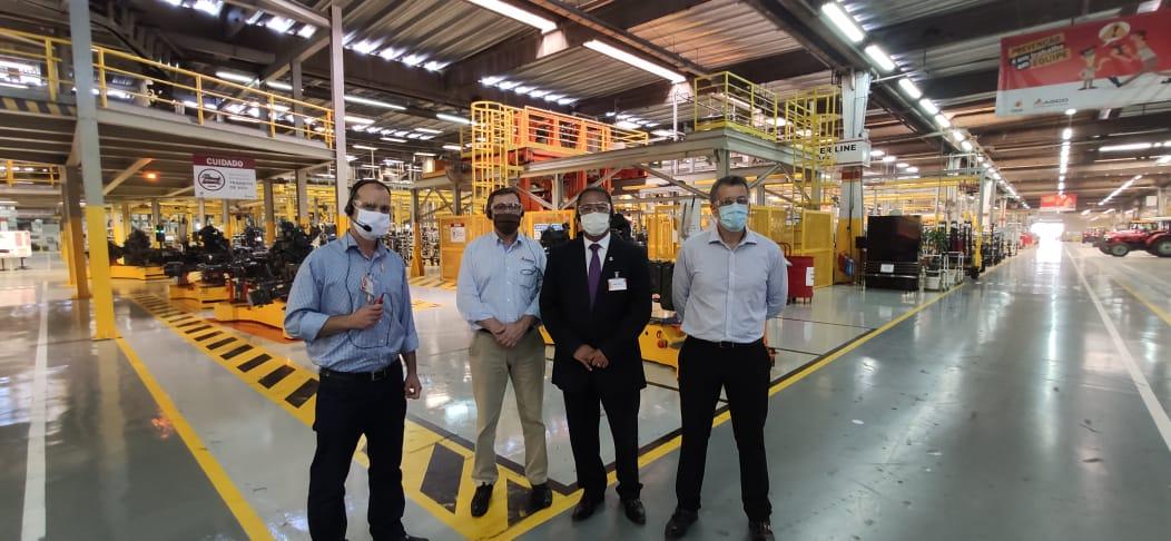 Secretário de Indústria, Comércio e Serviços visita fábricas da Região Sul do Tocantins