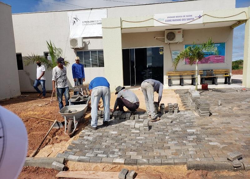 Prefeitura de Guaraí segue investindo em lazer: construção de Praça no Setor Alto Alegre em ritmo acelerado