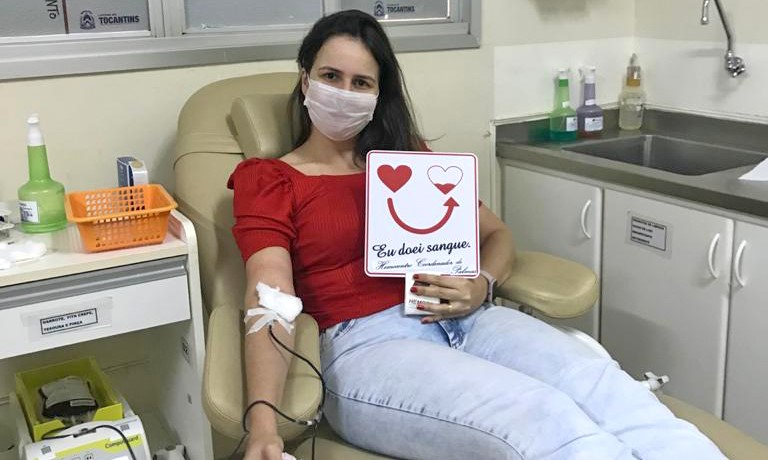 Saúde realiza programação especial na Semana Nacional de Doadores Voluntários de Sangue