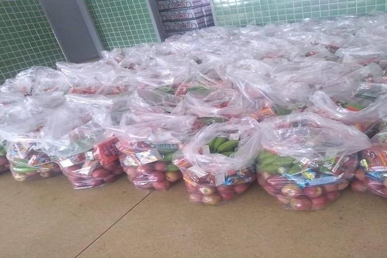 Campus Paraíso do Tocantins do IFTO entrega mais uma remessa de kits de alimentação para estudantes