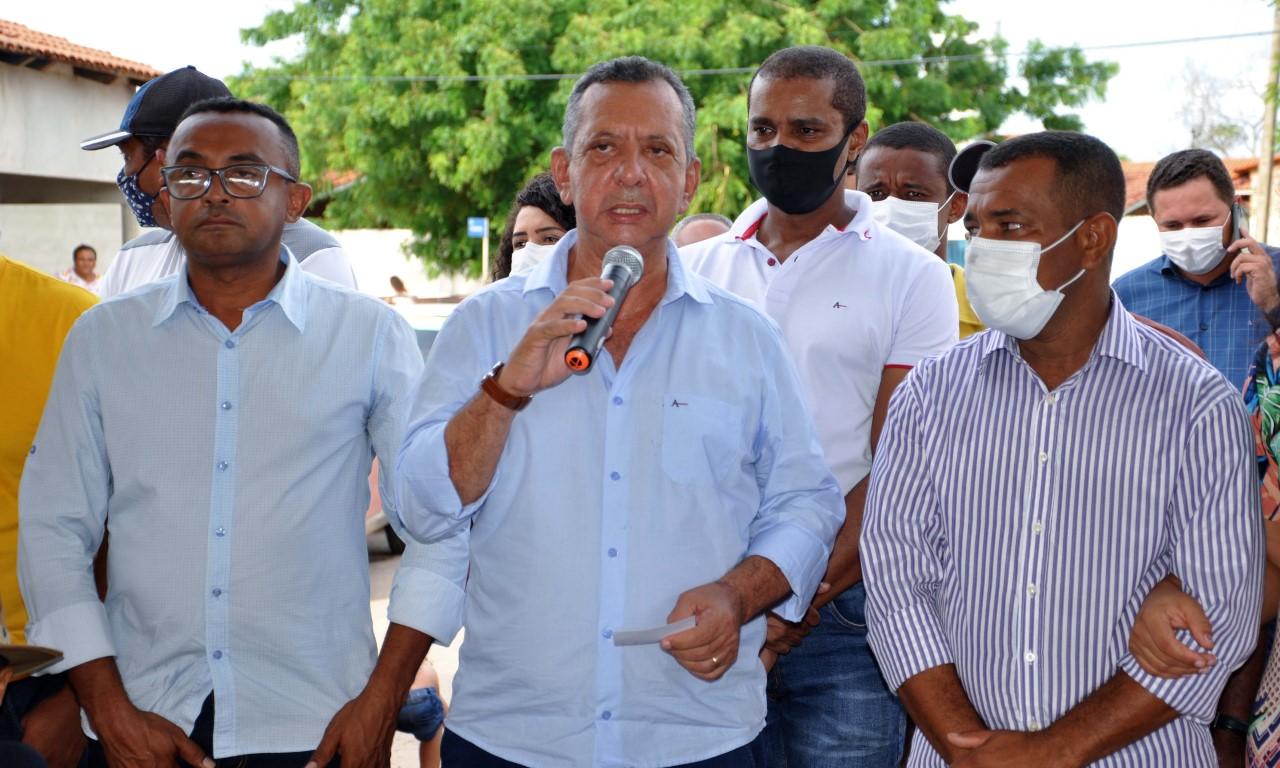 Governador em exercício, Antonio Andrade visita região sudeste e ouve demandas da comunidade local