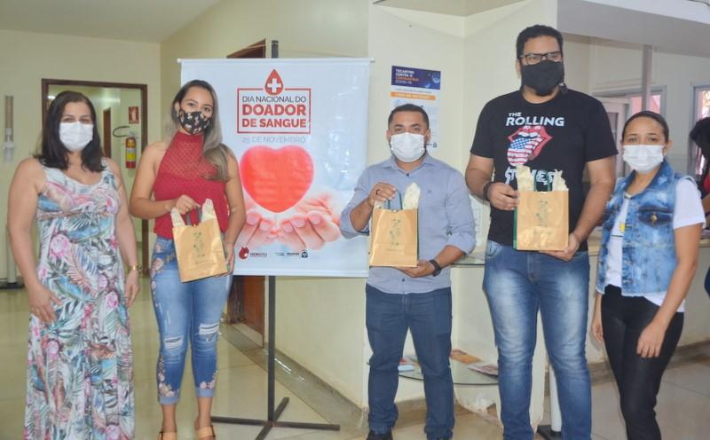 Hemocentro de Palmas promove homenagem aos doadores de sangue