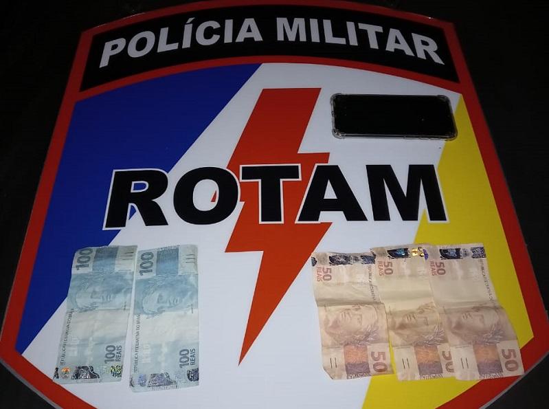 Polícia Militar apreende R$ 350 reais em moeda falsa em Palmas