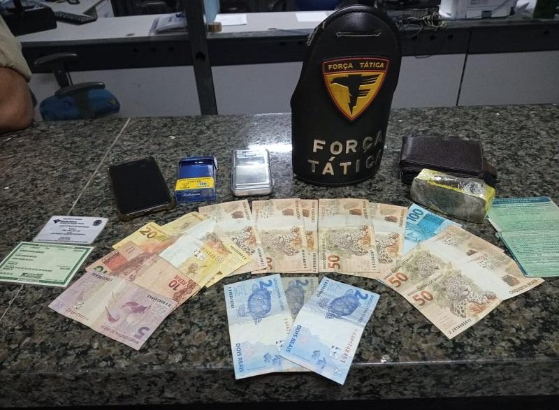 PM prende dois homens por tráfico de drogas em Araguaína