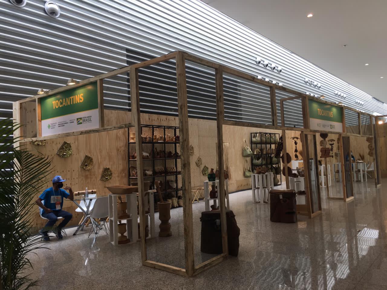 Artesanato tocantinense está presente na 31ª Expominas