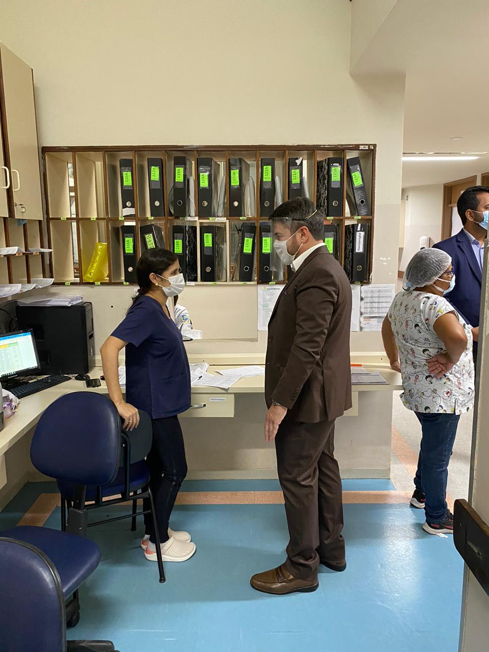 MPTO faz vistoria no HGP, Hospital Dona Regina e Hospital Infantil em Palmas