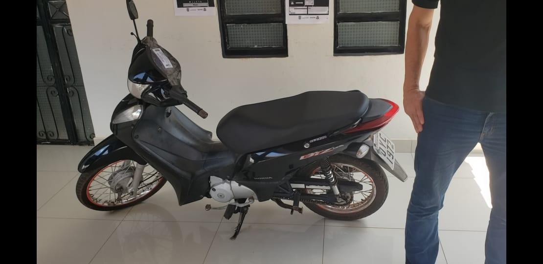 Motocicleta roubada em Tocantinópolis é recuperada pela Polícia Civil no Maranhão