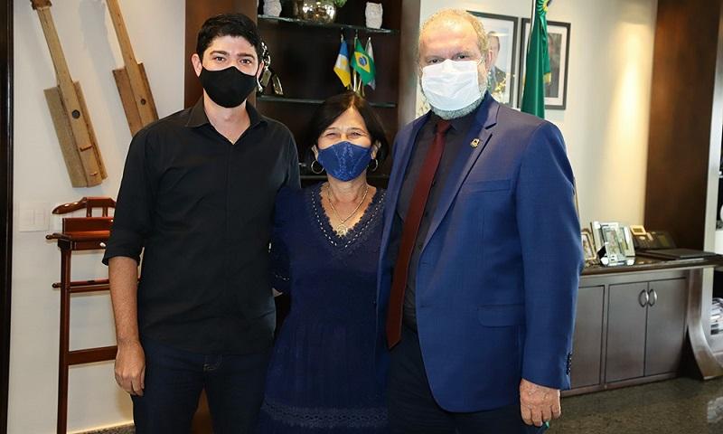 Celso Morais se reúne com Governador para discutir demandas de Paraíso