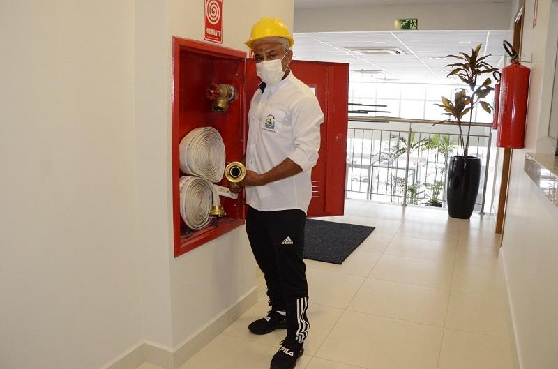 Presidente da Câmara de Palmas disponibiliza curso de brigadista de incêndio aos servidores