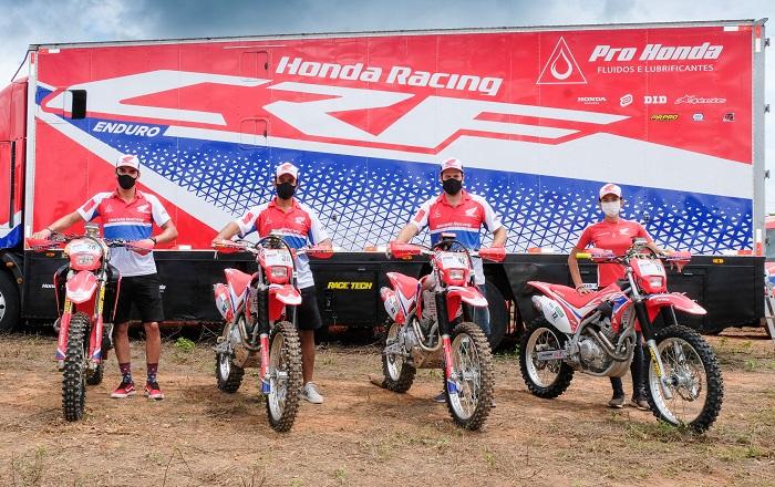 Equipe Honda Racing está pronta para o Rally Piocerá 2021