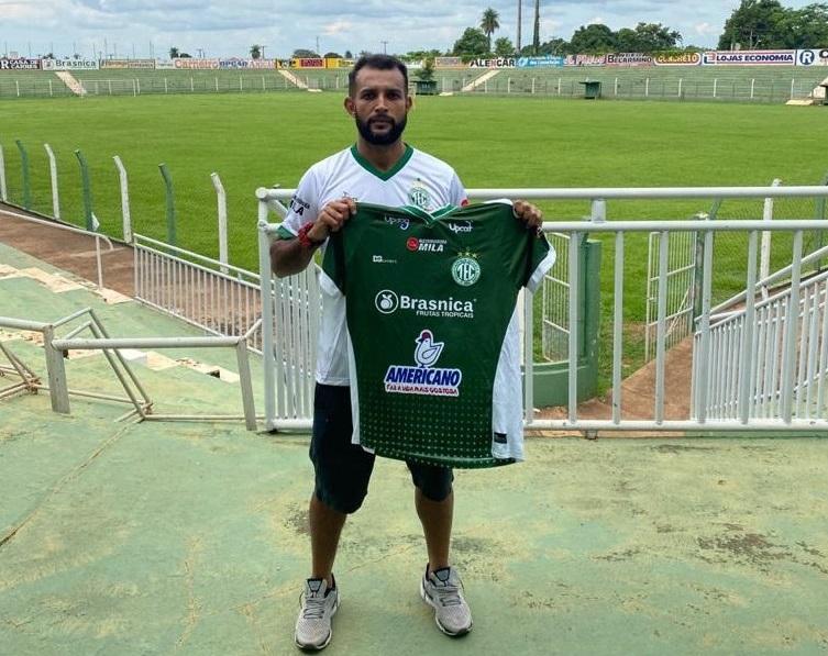 Gilberto Macena já treina com elenco do Tocantinópolis EC