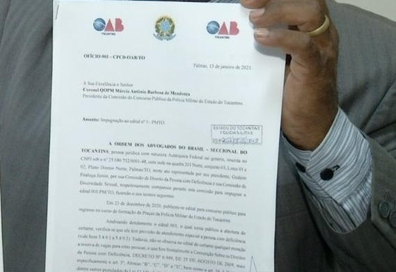 OAB notifica PM para mudar edital de concurso que não prevê vagas para negros e pessoas com deficiência