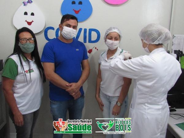 Rio dos Bois inicia vacinação contra a covid-19
