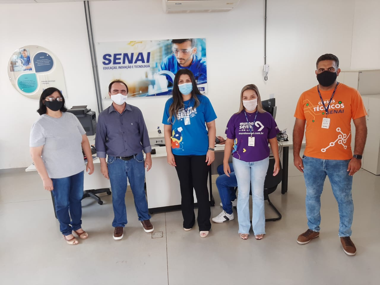 Secretaria Municipal de Indústria e Comércio reúne com Equipe SENAI