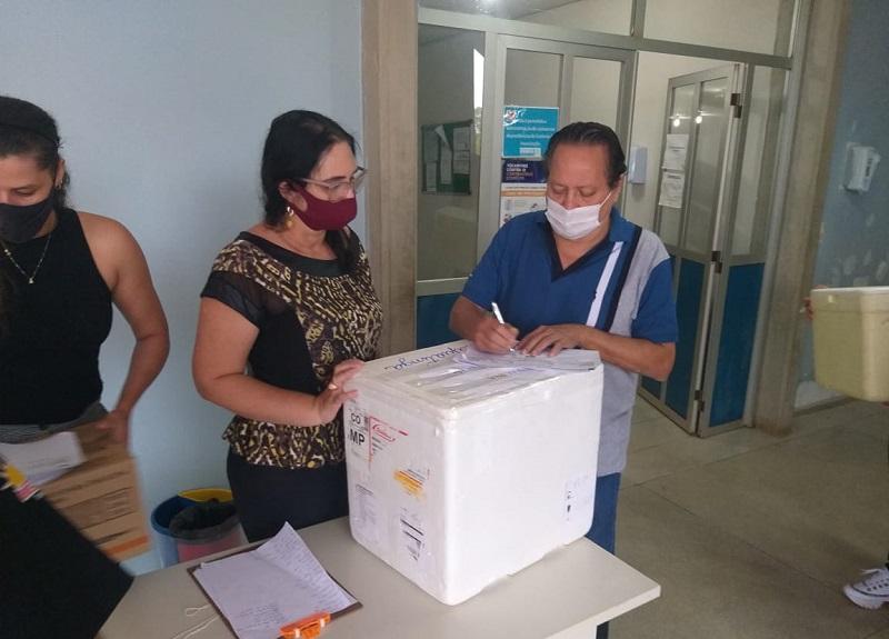 Taguatinga recebe primeiras doses da vacina contra Covid-19