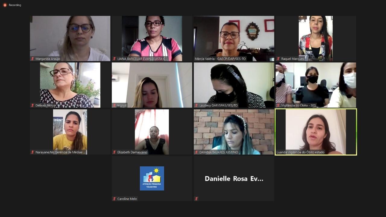 Comitê de Prevenção de Óbito Materno, Fetal e Infantil realiza 1ª reunião ordinária de 2021