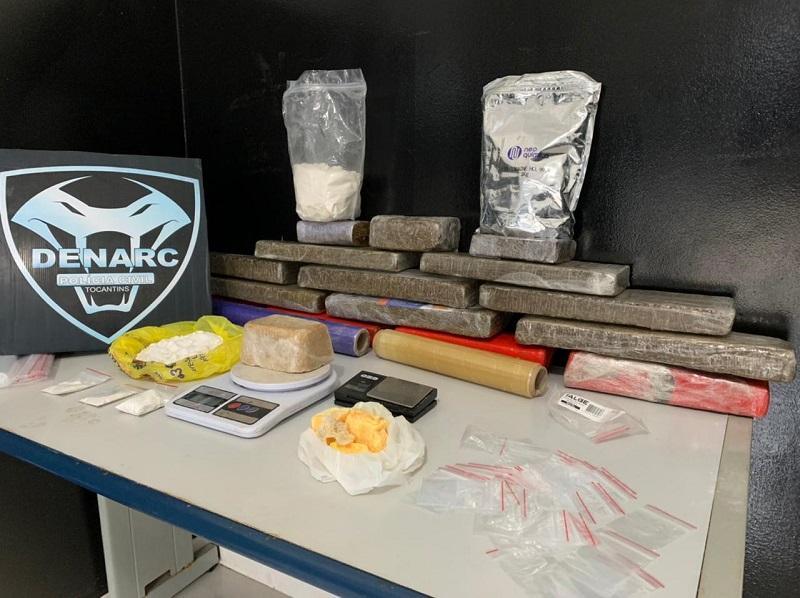 Operação da Polícia Civil e do Gaeco apreende mais drogas em Luzimangues