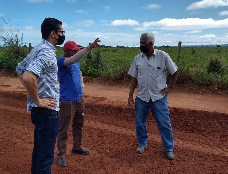 Estradas rurais de Gurupi passam por manutenção