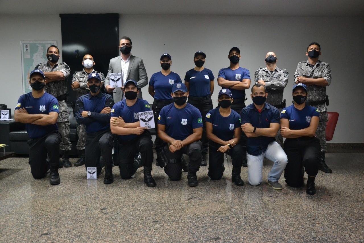 60 agentes socioeducativos do Tocantins se formam no I curso de Escolta Tática
