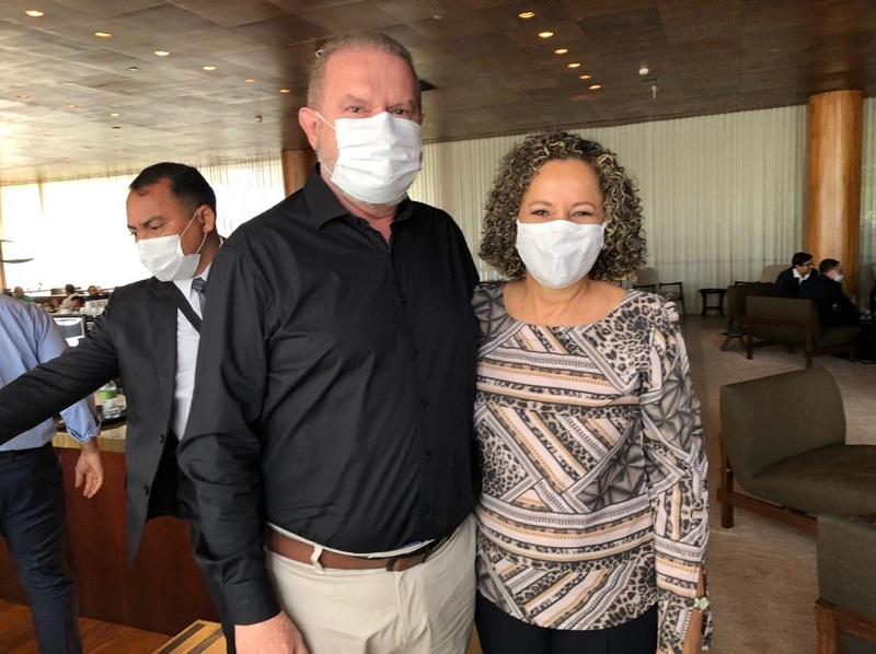 Em viagem a Brasília, Prefeita Josi Nunes busca atrair investidores para Gurupi