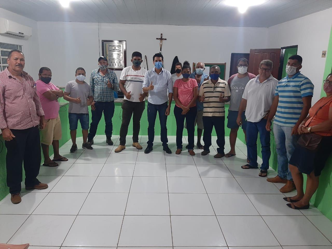 Nilton Franco prestigia criação e renovação de novos diretórios do MDB em Colméia, Goianorte e Juarina