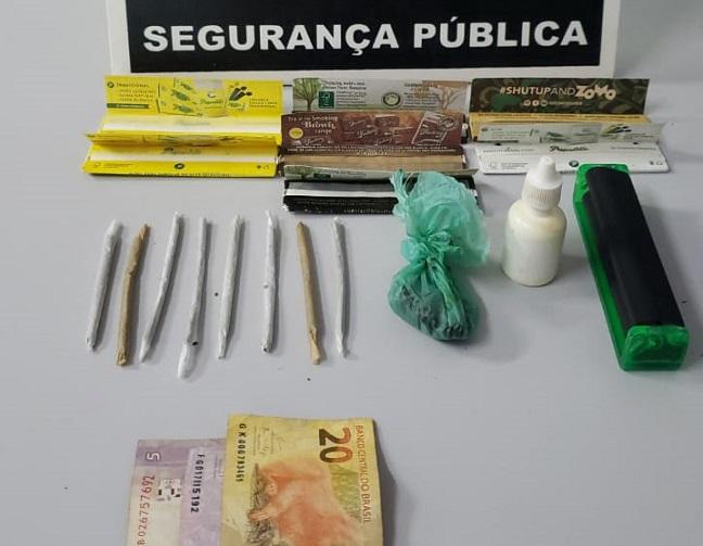 Após perseguição, suspeito de tráfico de drogas é preso em Paraíso do Tocantins