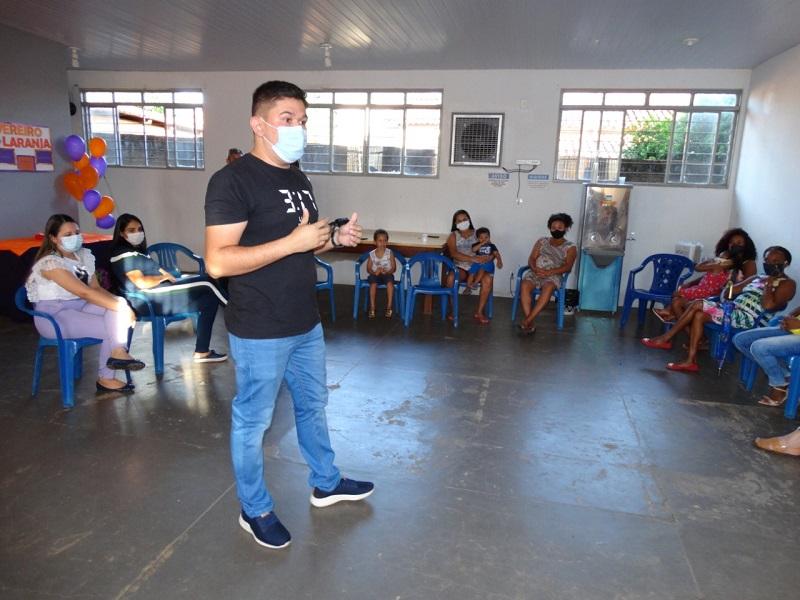 Prefeitura de Araguaína realiza conscientização sobre lúpus e mal de Alzheimer nos bairros