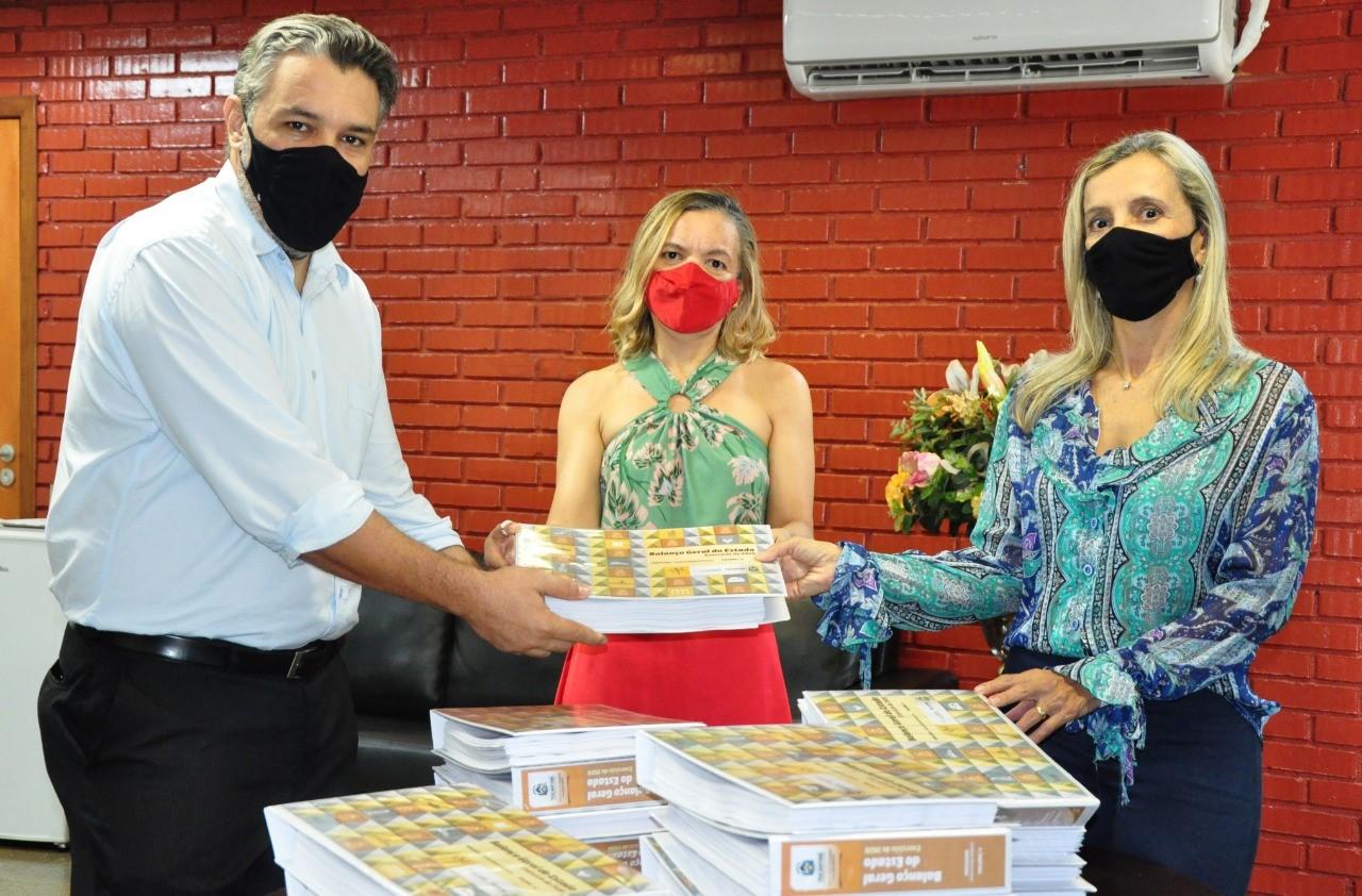 Balanço das Contas do Governo do Tocantins em 2020 é entregue para análise da Controladoria-Geral do Estado