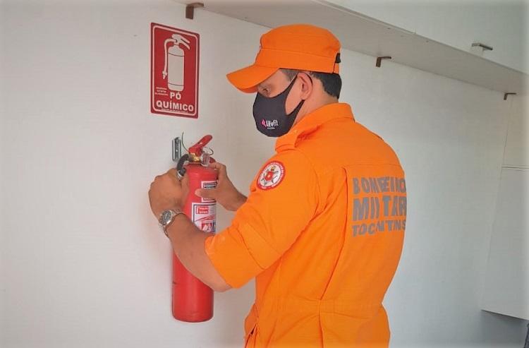 Corpo de Bombeiros comunica alterações nos serviços técnicos em virtude das novas medidas restritivas no TO
