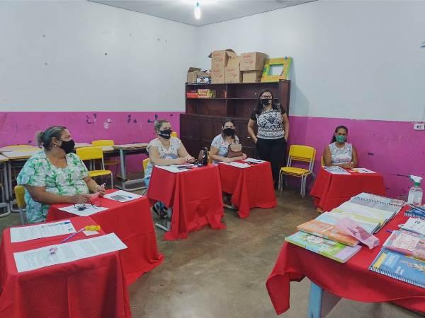 Educação de Caseara promove roda de conversa com coordenadoras pedagógicas