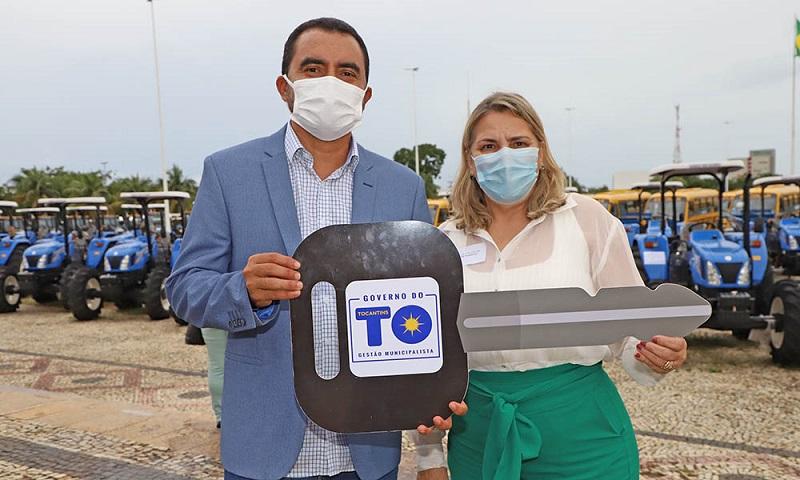 Gestores destacam alcance social dos equipamentos entregues pelo Governo do Tocantins