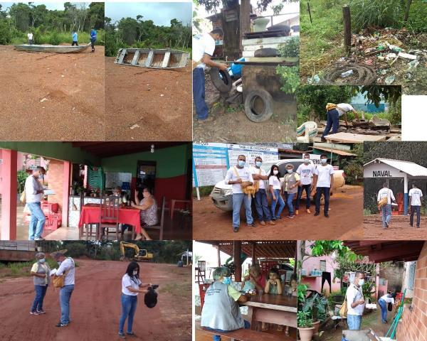 Prefeitura de Caseara mobiliza ação de combate às endemias