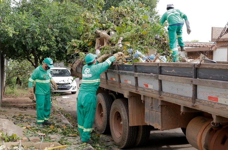 """Começa """"Operação Cidade Limpa"""" em Gurupi"""